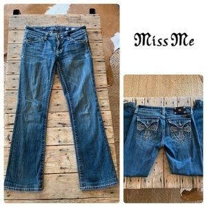 ❌SOLD❌Miss Me Boot Cut Jeans Women's Size 29